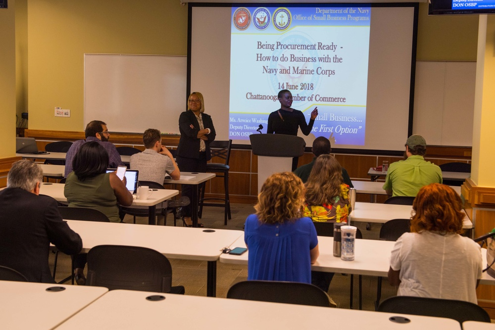 Small Business Workshop at Chattanooga's INCubator During Navy Week