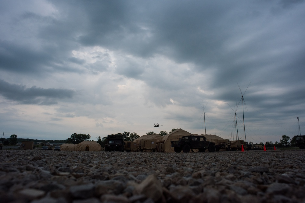146th ASOS builds partnership during warfighter exercise