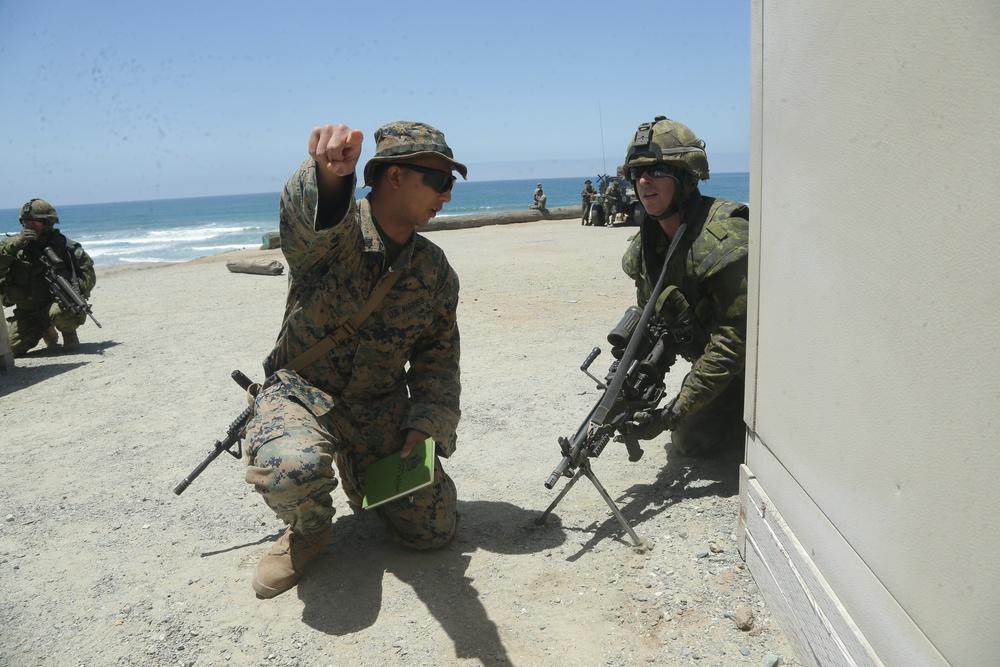 Canada, U.S. Marines prepare for AAV operations during RIMPAC