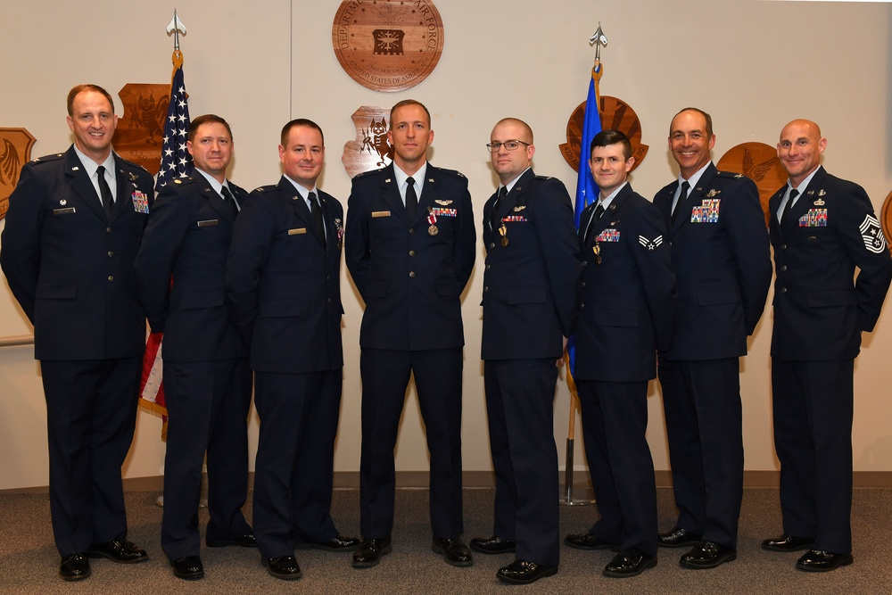 Air Force awards first Remote device: Dominant persistent attack aircrew recognized