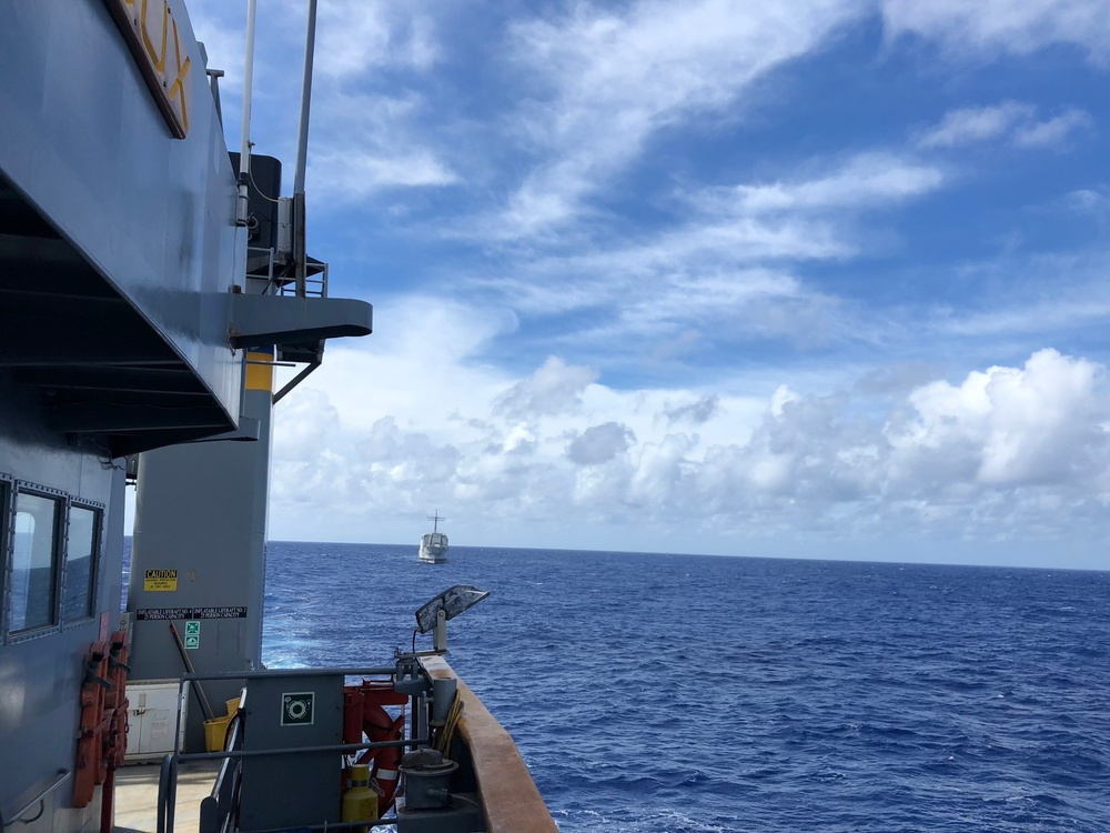 USNS Sioux Conducts Target Towing in Support of RIMPAC 2018