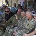 U.S. Army Pacific Senior Leaders view the RIMPAC 2018 live fire exercise
