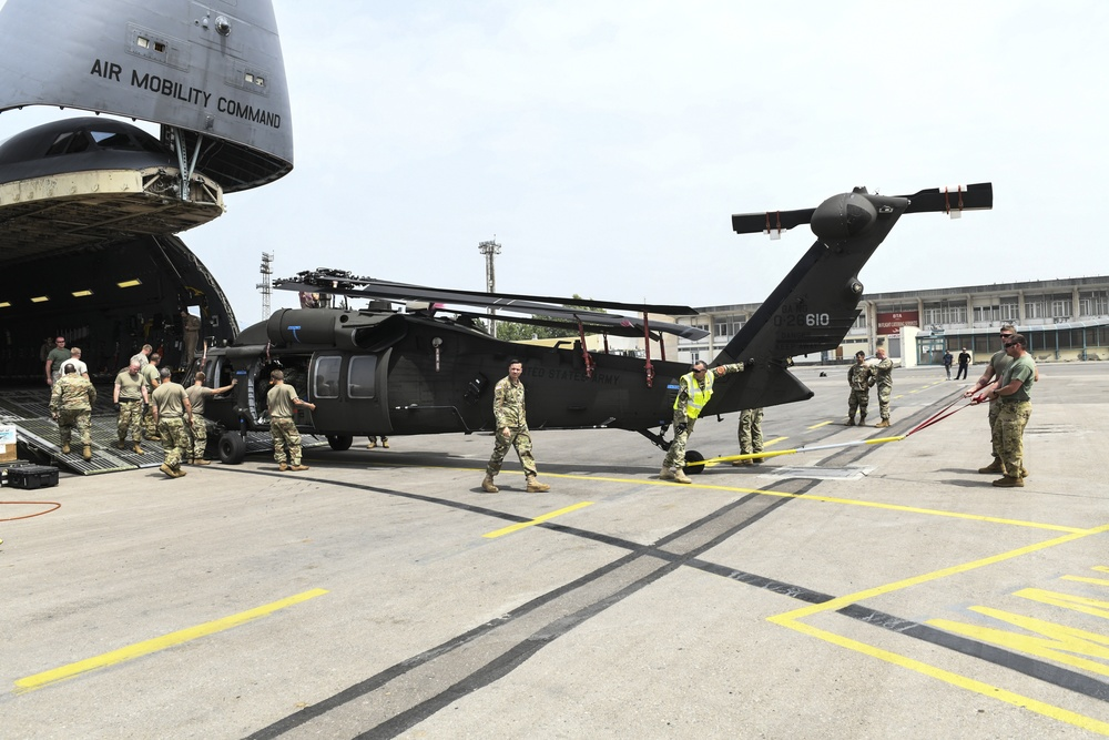 Noble Partner receives rotary wing support