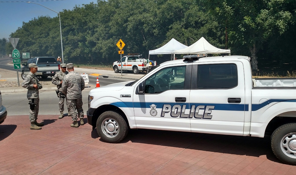 163d Security Forces defenders deploy in support of Northern California fires