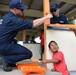USCGC Oliver Berry volunteers in Majuro