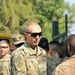The 4th Infantry Division Commanding General Visits Soldiers