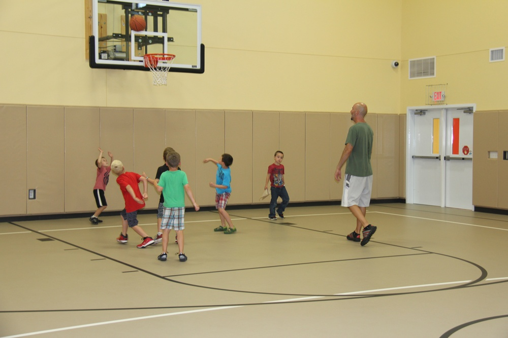 CYS basketball camp