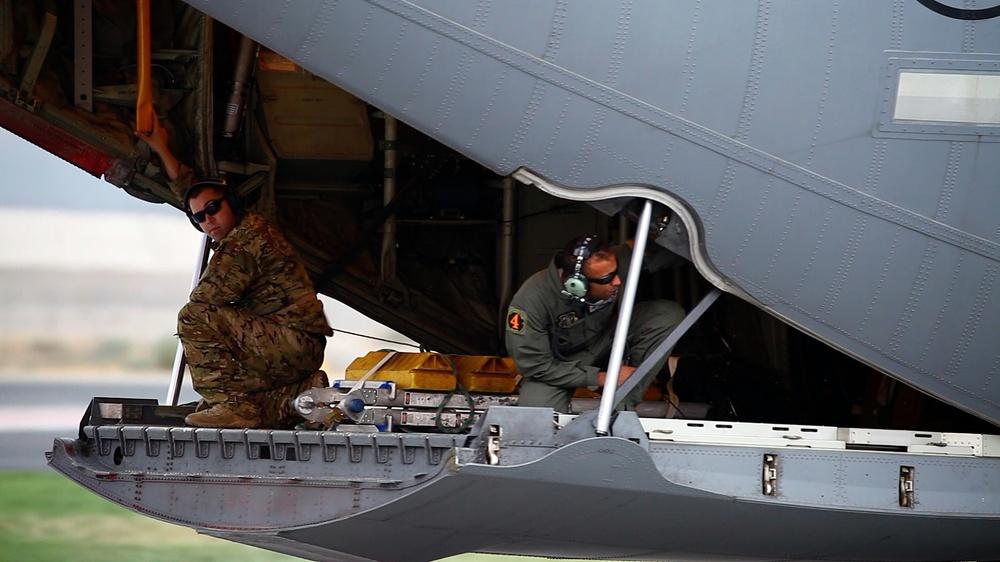 Cal Guard's MAFFS C-130s work Holy Fire