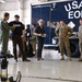 Ethan Hawke and Ben Dickey visit 301st Fighter Wing