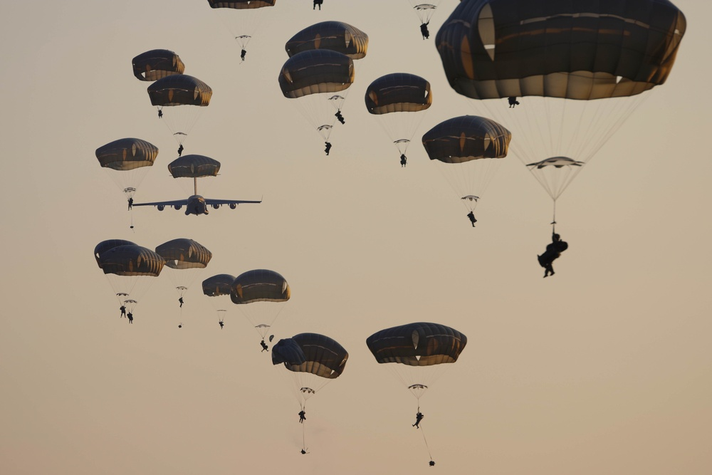 2-505 PIR Paratroopers Train to Conduct Joint Forcible Entry