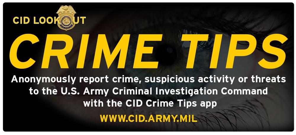 CID Crime Tips logo