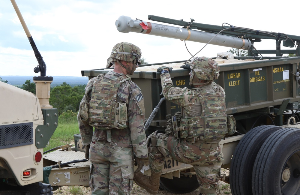Clearing Obstacles in a Flash and with a Boom; Panther Brigade Engineers Fire First Live Mine-Clearing Line Charge on Fort Bragg in 20 Years