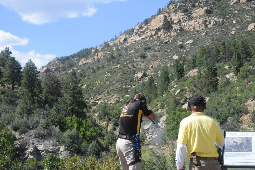 Rocky Mountain High for USAMU Soldiers