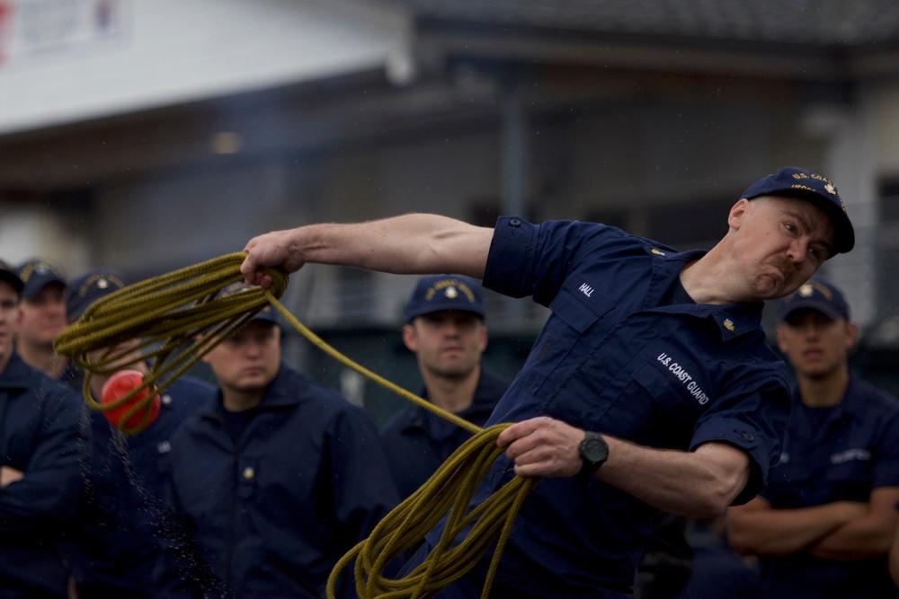 Coast Guard Buoy Tender Olympics in Juneau, Alaska