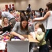 Fort Drum mothers-to-be showered with gifts at a party in their honor