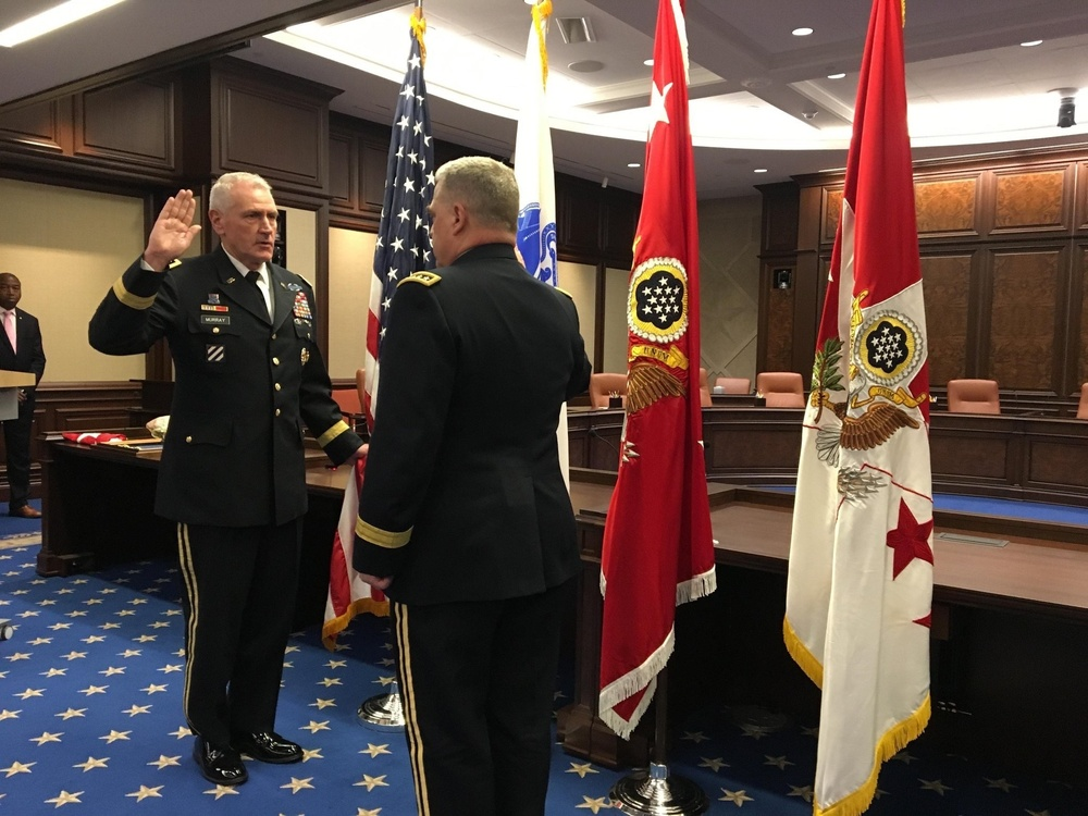 Lt. Gen. John M. Murray promoted to general and first to lead Army Futures Command