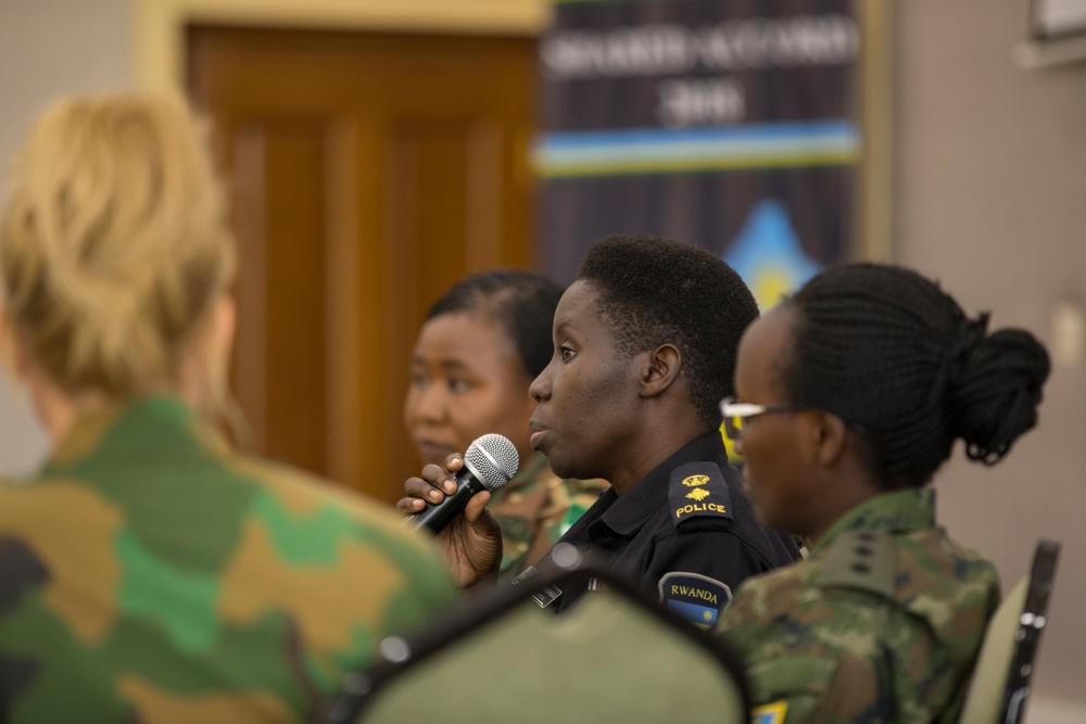 """Women in Peacekeeping"" panel - Shared Accord 2018"