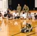 Navy Sailors speak to YMCA students