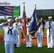 Sailor sings National Anthem at Louisville Bats game