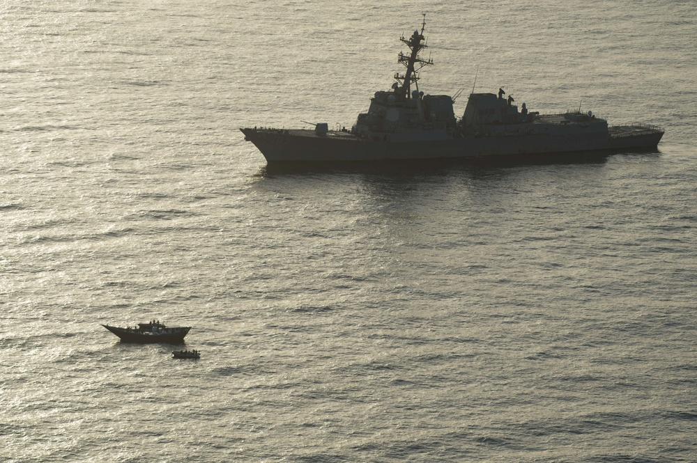 U.S. Navy Seizes Weapons in Gulf of Aden