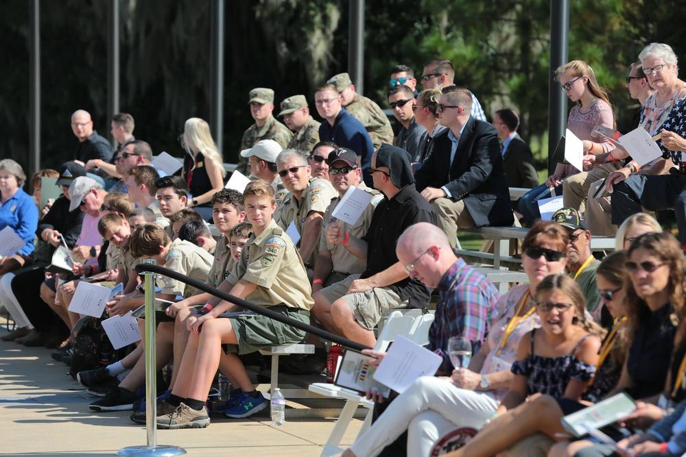 Global War on Terrorism Memorial inaugural rededication