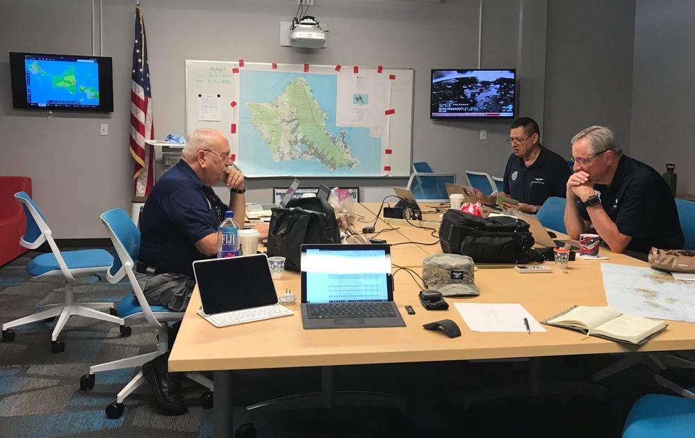 Hawaii Wing focuses on post-Olivia missions