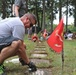 Commando Engineers clean up a military cemetery