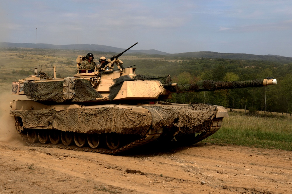 1-7 Cavalry Regiment conduct CALFEX with Slovakian forces