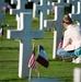 WWI Graveside Flags