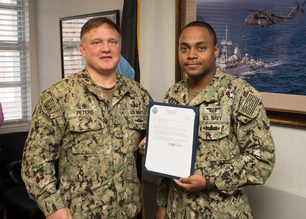 NSWC PCD Personnel Receive Recognition