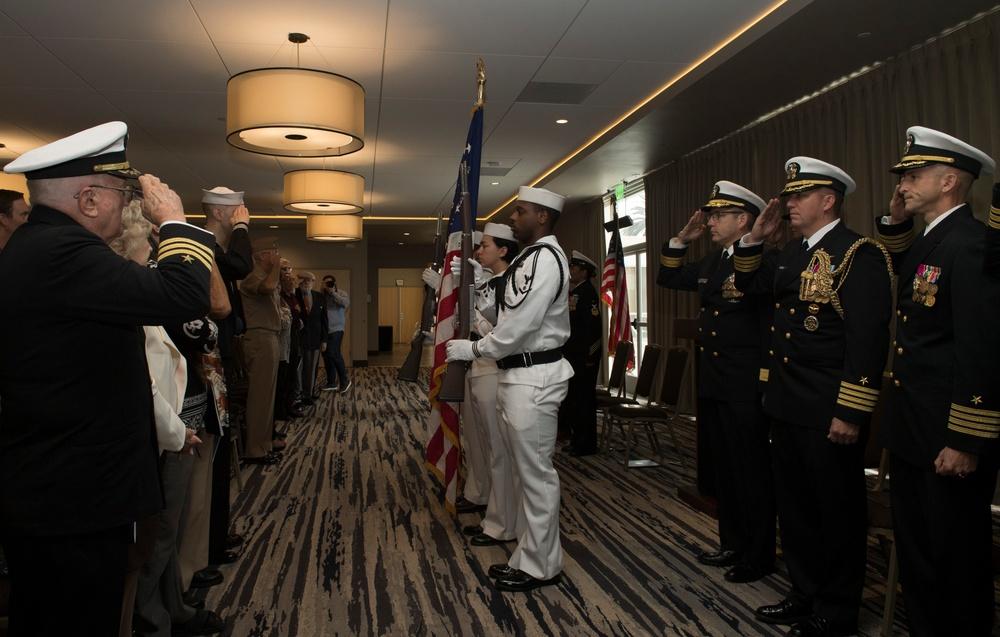 Fleet Combat Camera Pacific Disestablishment Ceremony