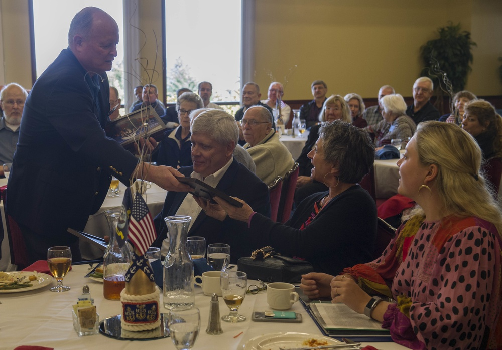 NAS Whidbey Island Honors William B. Ault Family during 75th Ault Field Naming Anniversary