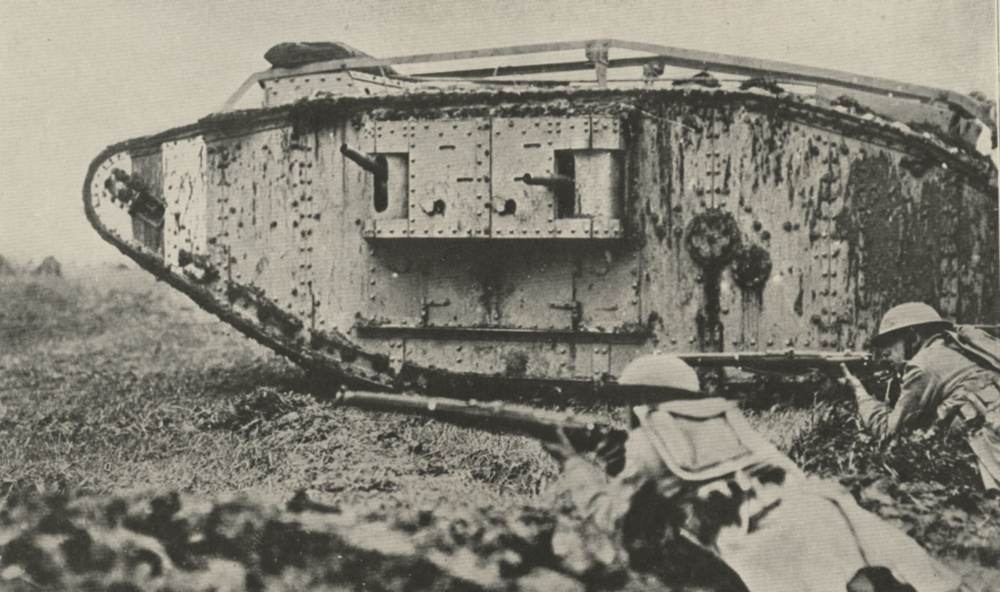 NY National Guard Soldiers broke Hindenburg Line in 1918