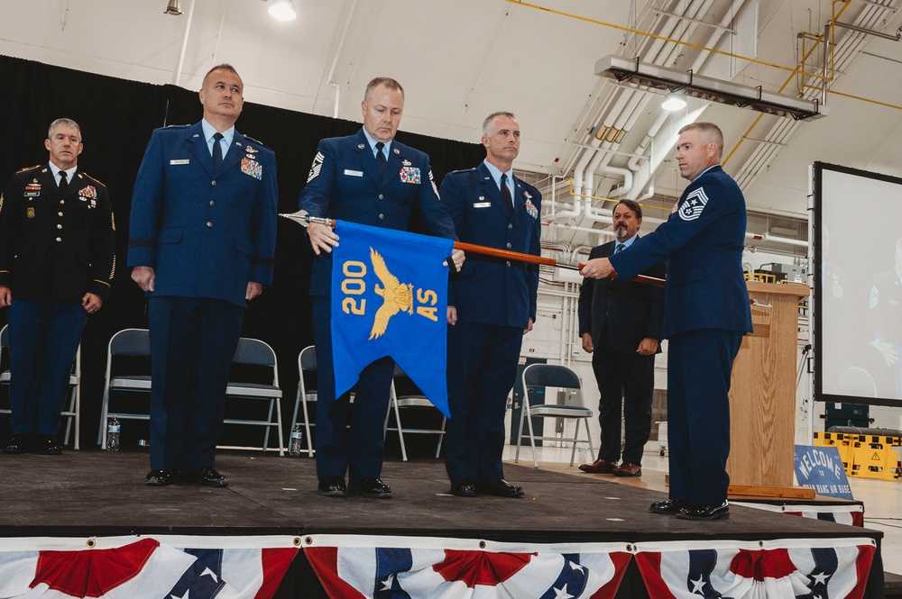 140th Wing bids final farewell to 200th Airlift Squadron