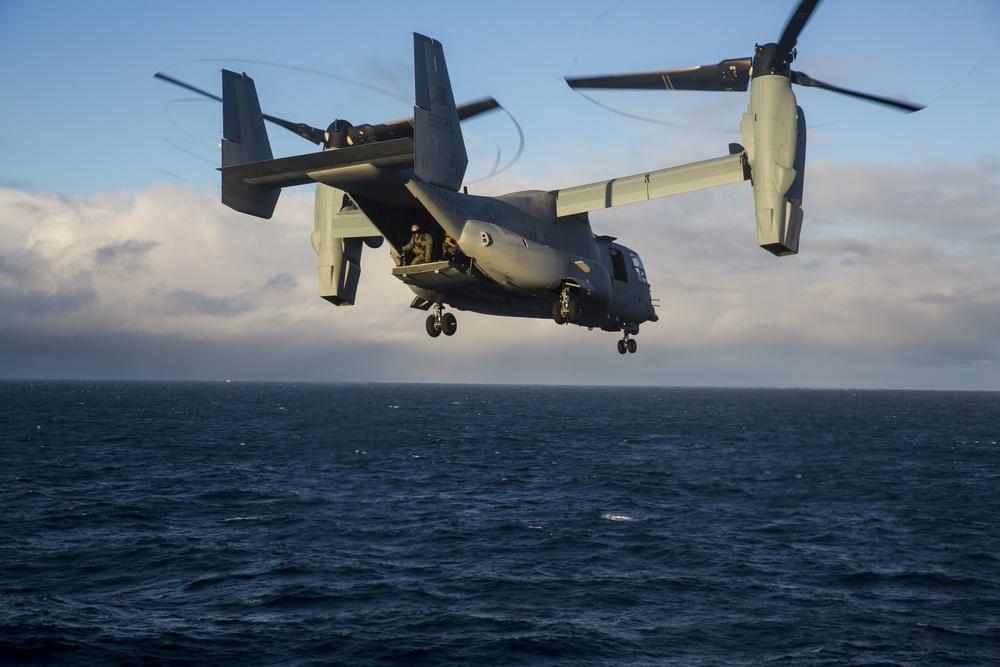 24th MEU conducts Icelandic air assault rehearsal