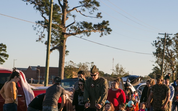MCCS hosts Trunk or Treat at MCAS Cherry Point
