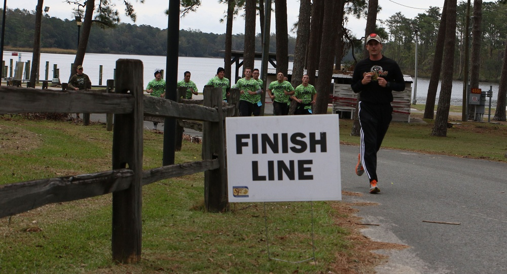 MCAS Cherry Point service members battle through zombies and harsh terrain
