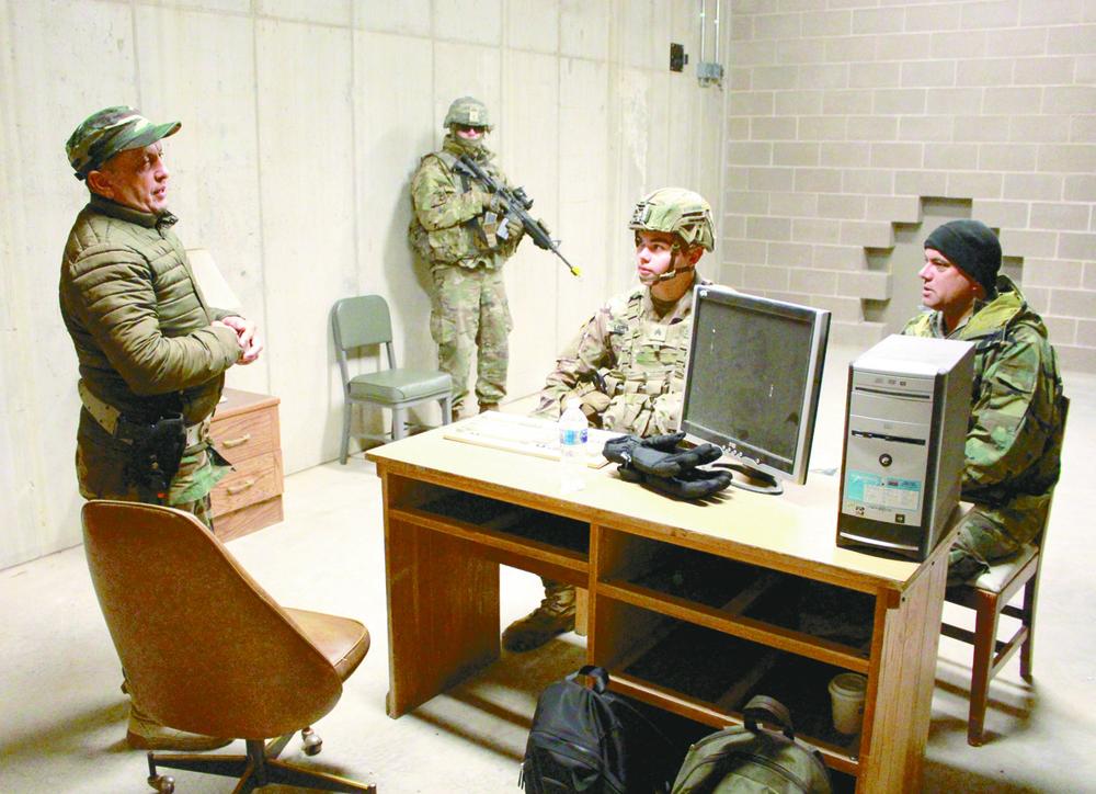 Fort Polk Soldiers train Wisconsin Guardian Angels