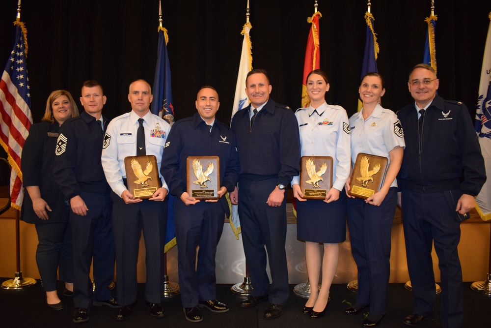 Local service personnel, longstanding community partnership honored at Battle Creek Area Chamber of Commerce Military Appreciation Luncheon