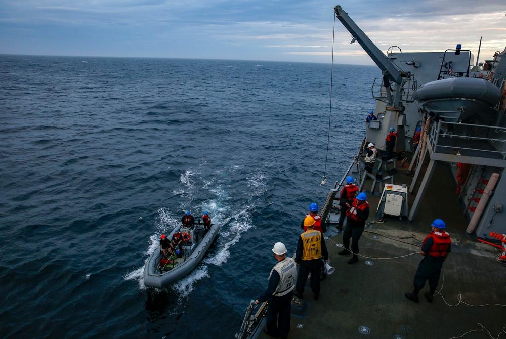 Warships Underway for First East Coast Cruiser-Destroyer SWATT Exercise