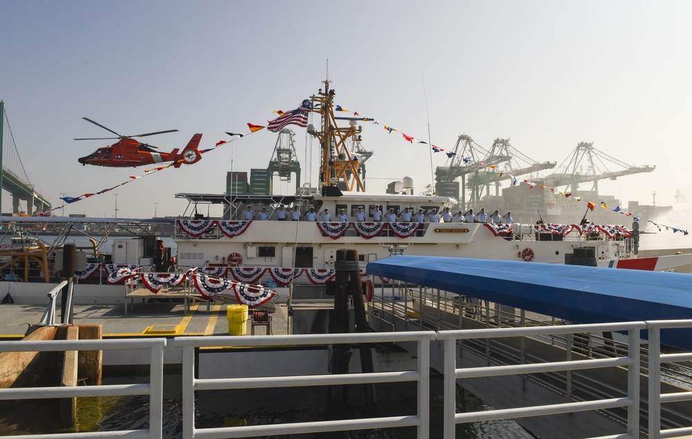 USCGC Forrest Rednour Commissioning Ceremony