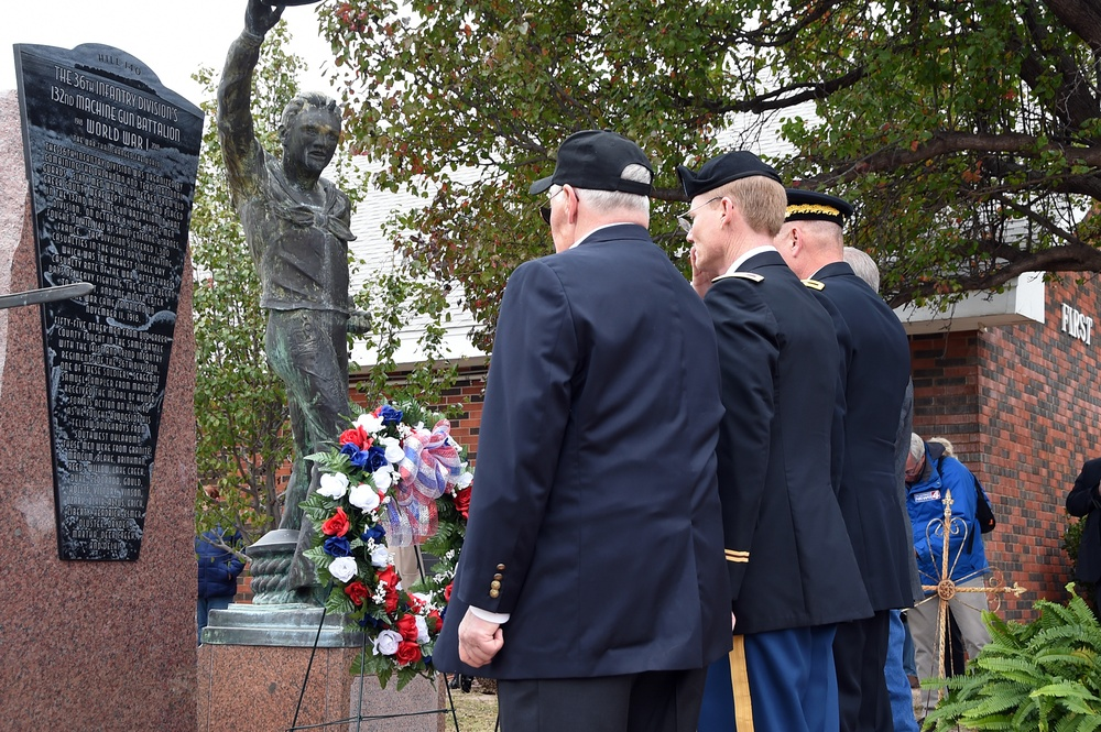 WWI monument honors Oklahoma Soldiers