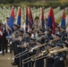 The USAFE Band performs at the Suresnes American Cemetery to honor the centennial of Armistice Day, Paris, France.