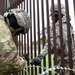 Army Engineers Secure Concertina Wire Together