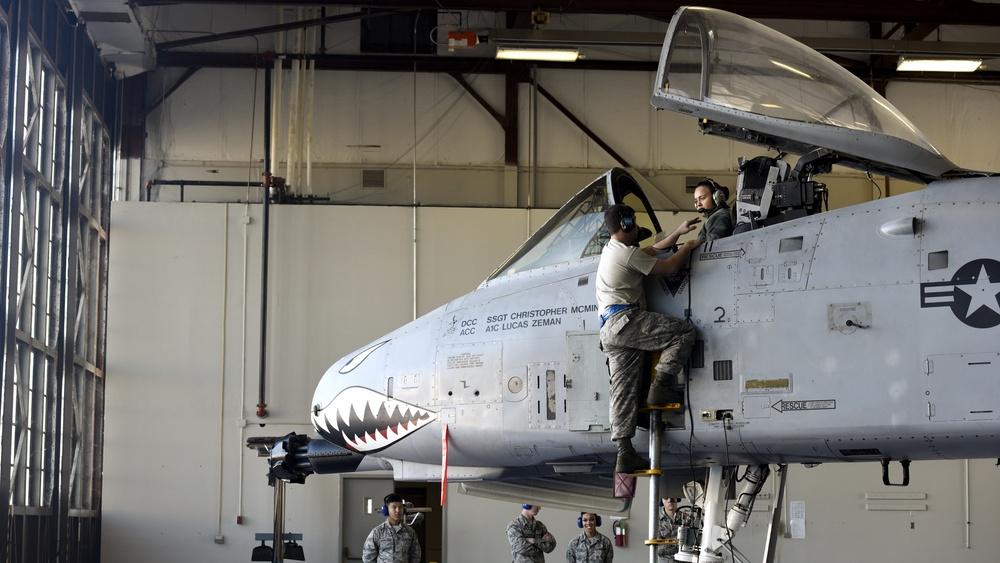 A-10 crew chief apprentice course