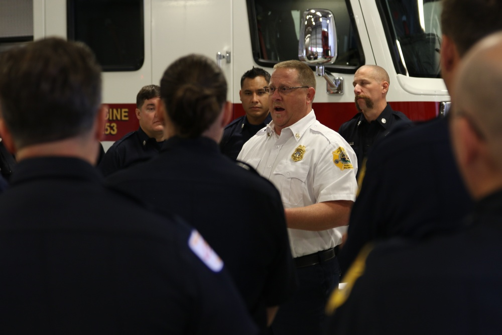 Cherry Point Fire and Emergency Services' awarded top life-saving award