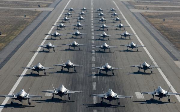 F-35A Elephant Walk
