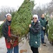 Airmen, Soldiers Lend Hand for Trees for Troops