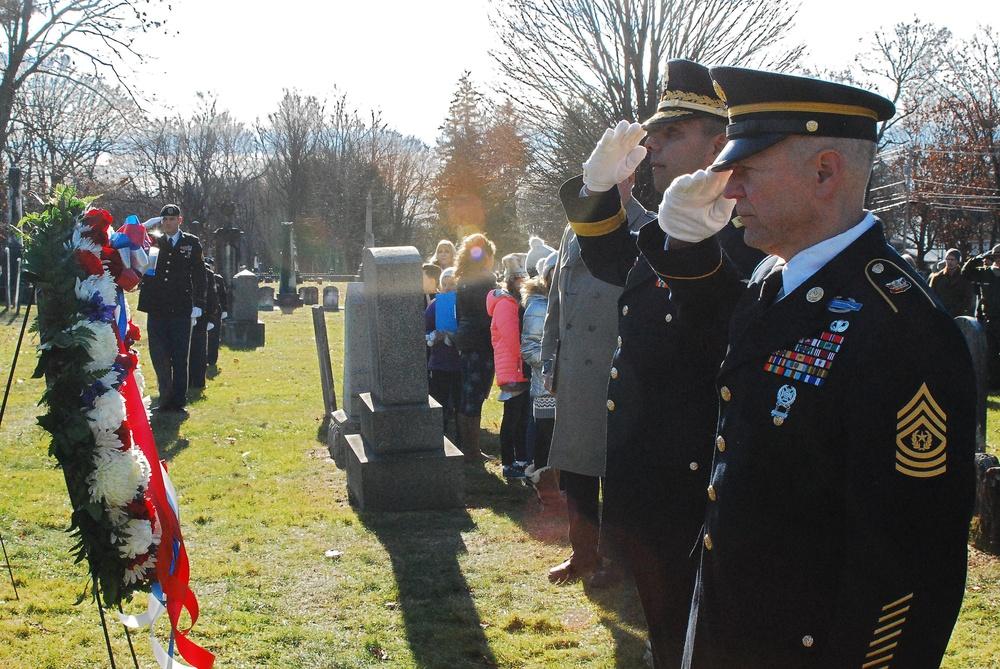 NY National Guard marks Martin Van Buren birthday