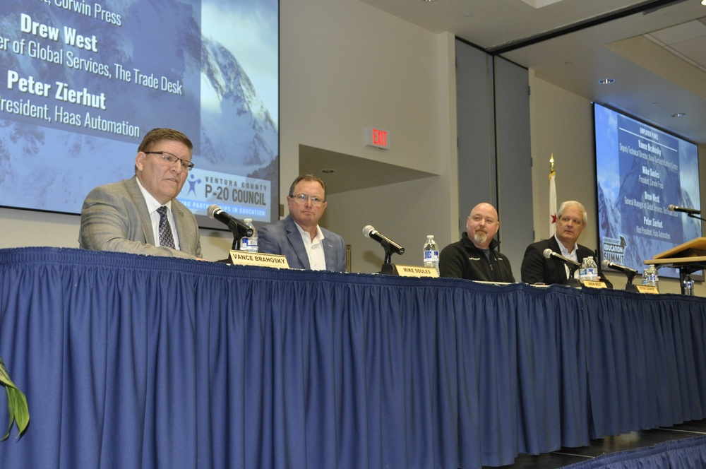 Warfare Center participates in local education summit, reinforces commitment to educators